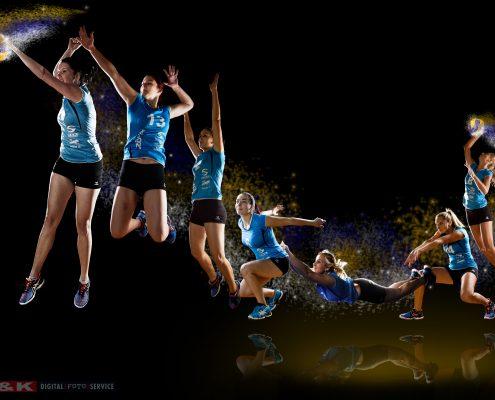 Volleyball-Spielerinnen