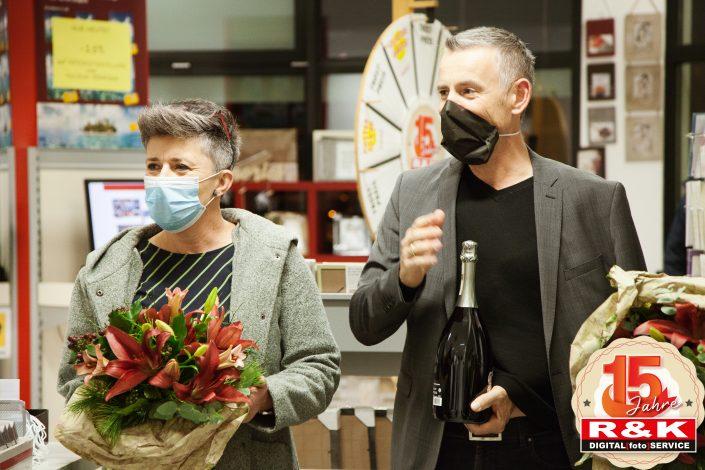 BGM DI Leonhardsberger und Lisi Steinacher